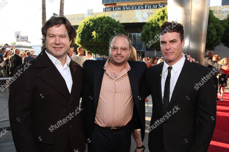 HOLLYWOOD, CA - AUGUST 16: Director Josh Gordon, Screenwriter Allan Loeb and Director Will Speck at the World Premiere of Miramax's 'The Switch' on August 16, 2010 at the Arclight Theatre in Hollywood, California.