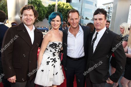 HOLLYWOOD, CA - AUGUST 16: Director Josh Gordon, Juliette Lewis, Patrick Wilson and Director Will Speck at the World Premiere of Miramax's 'The Switch' on August 16, 2010 at the Arclight Theatre in Hollywood, California.