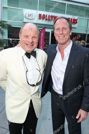 HOLLYWOOD, CA - AUGUST 24: Tony Bentley and Louis Herthum at the Los Angeles Special Screening of Lionsgate's 'The Last Exorcism' on August 24, 2010 at Arclight Hollywood in Hollywood, California.