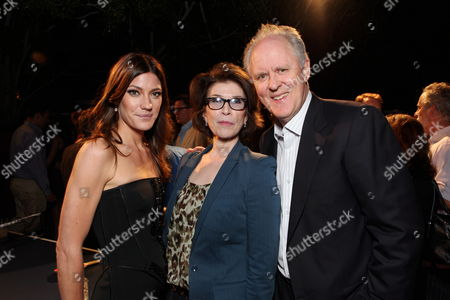 WEST HOLLYWOOD, CA - AUGUST 28: Jennifer Carpenter, Exec. Producer Sara Colleton and John Lighgow at Showtime's 2010 Emmy Nominees Party on August 28, 2010 at Skybar at Mondrian in West Hollywood, California.