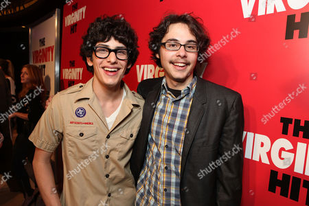 LOS ANGELES, CA - SEPTEMBER 07: Matt Bennett and Justin Kline at a Special Screening of Columbia Pictures 'The Virginity Hit' at Regal Cinemas-LA Live on September 7, 2010 in Los Angeles, California. Matt Bennett Justin Kline