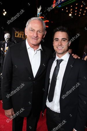 Stock Image of HOLLYWOOD - SEPTEMBER 22: Victor Garber and Sean Wing at Touchstone Pictures World Premiere of 'You Again' at the El Capitan Theatre on September 22, 2010 in Hollywood, California. Victor Garber Sean Wing