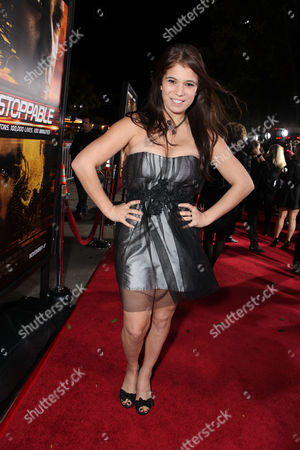 WESTWOOD, CA - OCTOBER 26: Katelyn Pippy at 20th Century Fox World Premiere of 'Unstoppable' at the Regency Village Theatre on October 26, 2010 in Westwood, California. Katelyn Pippy