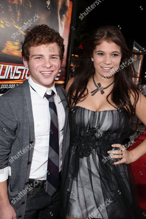 WESTWOOD, CA - OCTOBER 26: Jonathan Lipnicki and Katelyn Pippy at 20th Century Fox World Premiere of 'Unstoppable' at the Regency Village Theatre on October 26, 2010 in Westwood, California. Jonathan Lipnicki Katelyn Pippy