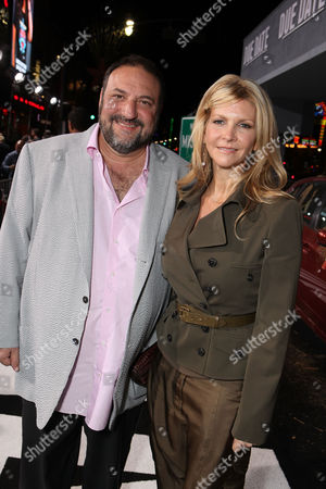 LOS ANGELES, CA - OCTOBER 28: Joel Silver and Karyn Fields at the Warner Bros. Los Angeles Premiere of 'Due Date' at Grauman's Chinese Theater on October 28, 2010 in Los Angeles, California. Joel Silver Karyn Fields