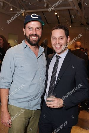 WEST HOLLYWOOD, CA - NOVEMBER 04: Brett Gelman and CAA's Michael Kives at Theory event benefitting Communities In Schools supported by Grey Goose at Theory on November 4, 2010 in West Hollywood, California. Brett Gelman Michael Kives