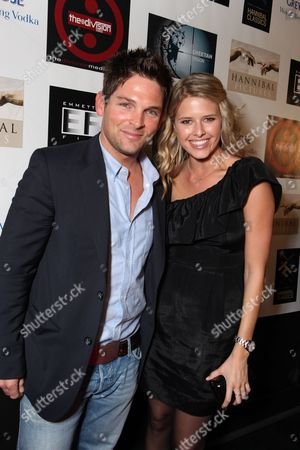 SANTA MONICA, CA - NOVEMBER 05: Brian Presley and Sarah Wright at Cheetah Vision, Hannibal Pictures/Hannibal Classics, Emmet/Fula Films AFM Blow Out partnered with Grey Goose at Pier 59 Studios on November 5, 2010 in Santa Monica, California. Brian Presley Sarah Wright