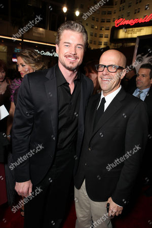 HOLLYWOOD - NOVEMBER 15: Eric Dane and Producer Donald DeLine at the Screen Gems Los Angeles Premiere of 'Burlesque' at Grauman's Chinese Theatre on November 15, 2010 in Hollywood, California. Eric Dane Donald DeLine