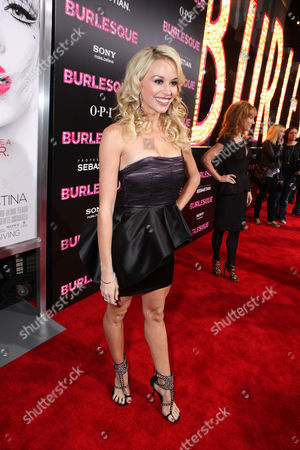 Editorial picture of Screen Gems Los Angeles Premiere of 'Burlesque' Hollywood Los Angeles, America.