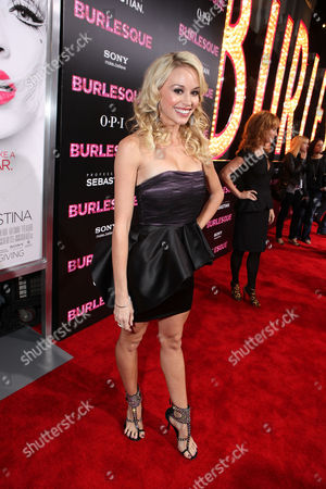 Stock Picture of HOLLYWOOD - NOVEMBER 15: Tyne Stecklein at the Screen Gems Los Angeles Premiere of 'Burlesque' at Grauman's Chinese Theatre on November 15, 2010 in Hollywood, California. Tyne Stecklein