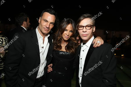HOLLYWOOD - NOVEMBER 15: Jonathan Antin, Robin Antin and Writer/Director Steven Antin at Screen Gems Los Angeles Premiere Party of 'Burlesque' at W Hollywood Hotel on November 15, 2010 in Hollywood, California. Jonathan Antin Robin Antin Steven Antin