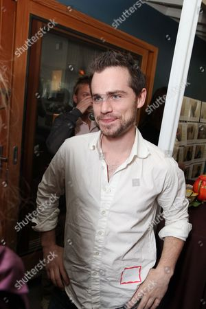 LOS ANGELES, CA - NOVEMBER 21: Rider Strong at the African Millennium Foundation Fundraiser Partnered with Grey Goose to raise funds to buy solar ovens for AIDS orphans at Private Residence on November 21, 2010 in Los Angeles, California. Rider Strong