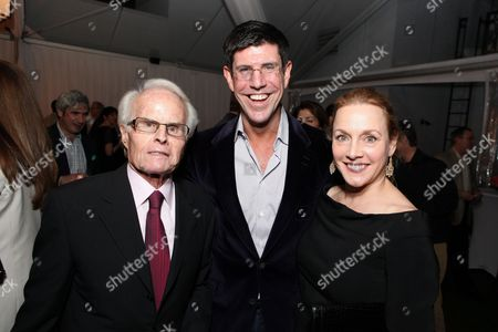 WEST HOLLYWOOD, CA - JANUARY 15: **EXCLUSIVE** Producer Richard D. Zanuck, Chairman, The Walt Disney Studios-Rich Ross and Lili Fini Zanuck at Walt Disney's Pre-Golden Globe Party at The London Hotel on January 15, 2011 in West Hollywood, California. Richard D. Zanuck Rich Ross Lili Fini Zanuck