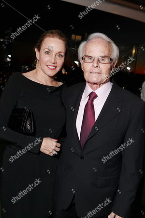 WEST HOLLYWOOD, CA - JANUARY 15: **EXCLUSIVE** Lili Fini Zanuck and Producer Richard D. Zanuck at Walt Disney's Pre-Golden Globe Party at The London Hotel on January 15, 2011 in West Hollywood, California. Lili Fini Zanuck Richard D. Zanuck