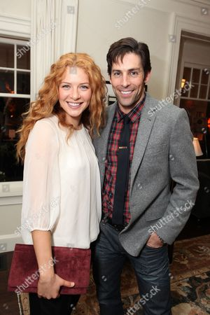 LOS ANGELES, CA - JANUARY 22: Rachelle Lefevre and Jordan Belfi at the 2nd Annual WinterFluffBall partnered with Grey Goose to celebrate and support the Best Friends Animal Society at Private Residence on January 22, 2011 in Los Angeles, California. rachelle lefevre Jordan Belfi