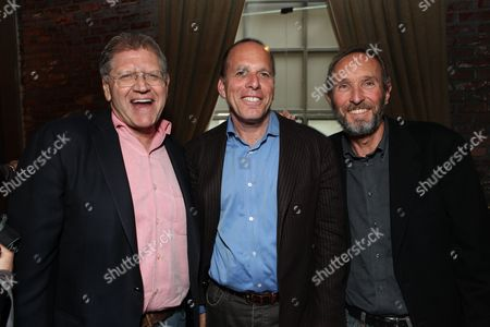 Producer Robert Zemeckis, Producer Jack Rapke and Producer Steve Starkey at Disney's 'Mars Needs Moms' World Premiere at the El Capitan Theatre on March 6, 2011 in Hollywood, California.