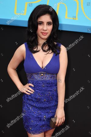 HOLLYWOOD, CA - APRIL 21: Janelle Ortiz at The World Premiere of Disney's 'Prom' at the El Capitan Theatre on April 21, 2011 in Hollywood, California. Janelle Ortiz
