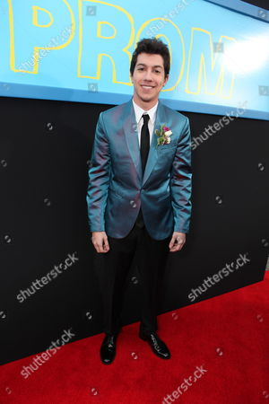 HOLLYWOOD, CA - APRIL 21: Jared Kusnitz at The World Premiere of Disney's 'Prom' at the El Capitan Theatre on April 21, 2011 in Hollywood, California. Jared Kusnitz
