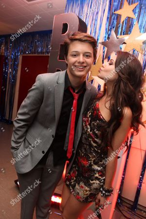 HOLLYWOOD, CA - APRIL 21: Nolan Sotillo and Danielle Campbell at The World Premiere of Disney's 'Prom' at the El Capitan Theatre on April 21, 2011 in Hollywood, California. 'Nolan Sotillo Danielle Campbell
