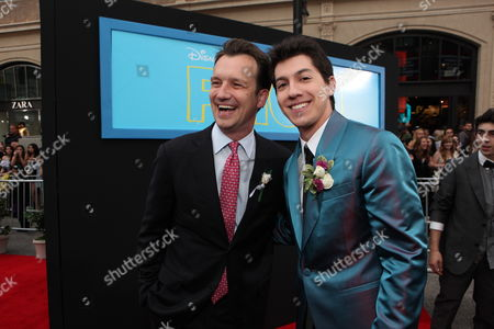 HOLLYWOOD, CA - APRIL 21: President, Production, Walt Disney Studios Motion Pictures - Sean Bailey and Jared Kusnitz at The World Premiere of Disney's 'Prom' at the El Capitan Theatre on April 21, 2011 in Hollywood, California. 'Sean Bailey Jared Kusnitz