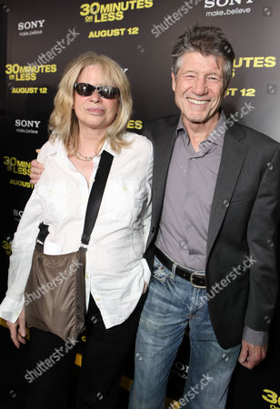 HOLLYWOOD, CA - AUGUST 08: Marie-France Ward and Fred Ward at Columbia Pictures World Premiere of '30 Minutes Or Less' at Grauman's Chinese Theatre on August 8, 2011 in Hollywood, California. Marie-France Ward Fred Ward