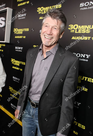Stock Picture of HOLLYWOOD, CA - AUGUST 08: Fred Ward at Columbia Pictures World Premiere of '30 Minutes Or Less' at Grauman's Chinese Theatre on August 8, 2011 in Hollywood, California. Fred Ward