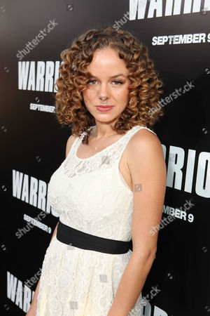 Stock Picture of HOLLYWOOD, CA - SEPTEMBER 06: Laura Kenley at Lionsgate's World Premiere of 'Warrior' at ArcLight Cinemas Cinerama Dome on September 6, 2011 in Hollywood, California. Laura Kenley