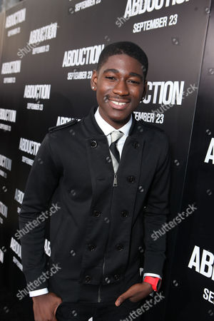 HOLLYWOOD, CA - SEPTEMBER 15: Kwame Boateng at Lionsgate's World Premiere of 'Abduction' at Grauman's Chinese Theatre on September 15, 2011 in Hollywood, California. Kwame Boateng