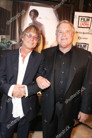 LOS ANGELES, CA - OCTOBER 13: Writer/Director Bruce Robinson and Producer Tim Headington attend FilmDistrict's World Premiere of 'The Rum Diary' at Bing Theatre at LACMA on October 13, 2011 in Los Angeles, California. Bruce Robinson Tim Headington