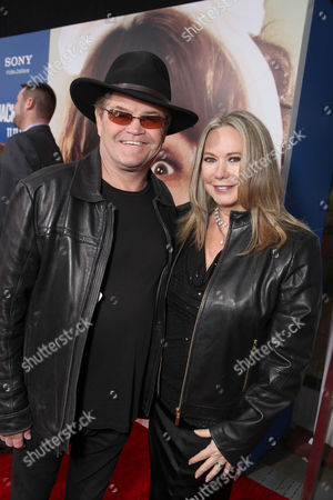 WESTWOOD, CA - NOVEMBER 06: Micky Dolenz and Donna Quinter at Columbia Pictures' World Premiere of 'Jack and Jill' at Regency Village Theatre on November 6, 2011 in Westwood, California. Micky Dolenz Donna Quinter