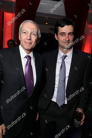 HOLLYWOOD, CA - DECEMBER 08: (EXCLUSIVE COVERAGE) Gen. Wesley Clark and Wesley Clark Jr. at FilmDistrict's Los Angeles Premiere of 'In the Land of Blood and Honey' held at ArcLight Hollywood on December 8, 2011 in Hollywood, California. Gen. Wesley Clark Wesley Clark Jr.