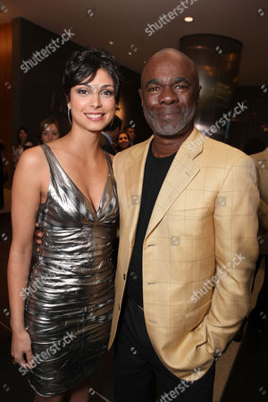 LOS ANGELES, CA - JANUARY 04: Morena Baccarin and Glynn R. Turman at Showtime Premiere of 'House of Lies' held at AT&T Center on January 4, 2012 in Los Angeles, California. Morena Baccarin Glynn R. Turman