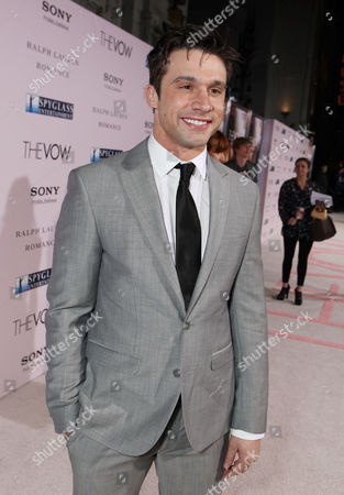 HOLLYWOOD, CA - FEBRUARY 06: Dillon Casey arrives at Screen Gems' World Premiere of 'The Vow' held at Grauman's Chinese Theatre on February 6, 2012 in Hollywood, California. Dillon Casey