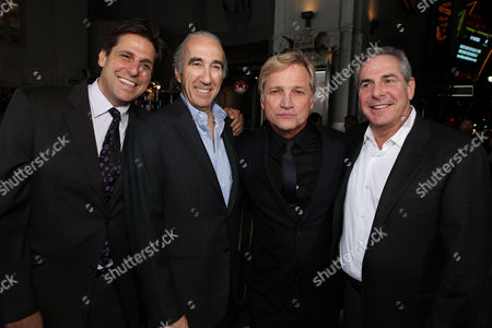 HOLLYWOOD, CA - FEBRUARY 06: Producer Jonathan Glickman, producer Gary Barber, Screen Gems' Clint Culpepper and producer Roger Birnbaum arrive at Screen Gems' World Premiere of 'The Vow' held at Grauman's Chinese Theatre on February 6, 2012 in Hollywood, California. Jonathan Glickman Gary Barber Clint Culpepper Roger Birnbaum