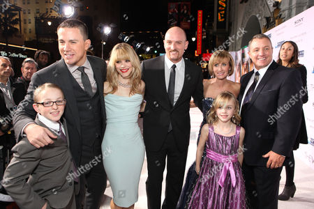 Stock Picture of HOLLYWOOD, CA - FEBRUARY 06: Danny Carpenter, Channing Tatum, Rachel McAdams, director Michael Sucsy, Krickitt Carpenter (who inspired the story), Leeann Carpenter and Kim Carpenter (who inspired the story) at Screen Gems' World Premiere of 'The Vow' held at Grauman's Chinese Theatre on February 6, 2012 in Hollywood, California. Danny Carpenter Channing Tatum Rachel McAdams Michael Sucsy Krickitt Carpenter Leeann Carpenter Kim Carpenter