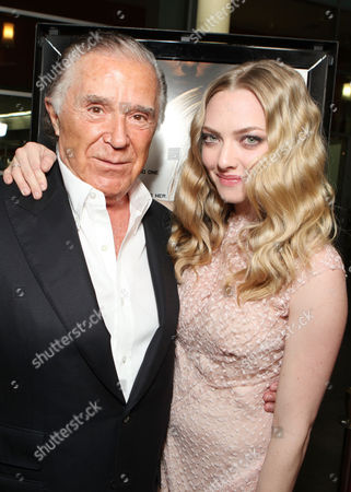 HOLLYWOOD, CA - FEBRUARY 21: Producer Sidney Kimmel and Amanda Seyfried arrive at Summit Entertainment's Los Angeles Premiere of 'Gone' at ArcLight Hollywood on February 21, 2012 in Hollywood, California. Sidney Kimmel Amanda Seyfried