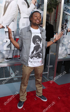 HOLLYWOOD, CA - MARCH 13: Actor Justin Hires at Columbia Pictures' Premiere of '21 Jump Street' held at Grauman's Chinese Theatre on March 13, 2012 in Hollywood, California. Justin Hires