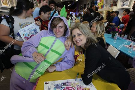 LOS ANGELES, CA - MAY 12: Cathy Weseluck at Hasbro's first stop in the national 'My Little Pony Friendship is Magic ' Pop-up store tour. 'My Little Pony' from Hasbro Studios New Episodes can be seen Saturdays at 1pm ET l 10am PT on the Hub. Cathy Weseluck