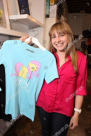 LOS ANGELES, CA - MAY 12: Andrea Libman at Hasbro's first stop in the national 'My Little Pony Friendship is Magic ' Pop-up store tour. 'My Little Pony' from Hasbro Studios New Episodes can be seen Saturdays at 1pm ET l 10am PT on the Hub. Andrea Libman