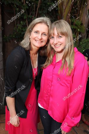 LOS ANGELES, CA - MAY 12: Cathy Weseluck and Andrea Libman at Hasbro's first stop in the national 'My Little Pony Friendship is Magic ' Pop-up store tour. 'My Little Pony' from Hasbro Studios New Episodes can be seen Saturdays at 1pm ET l 10am PT on the Hub. Cathy Weseluck Andrea Libman