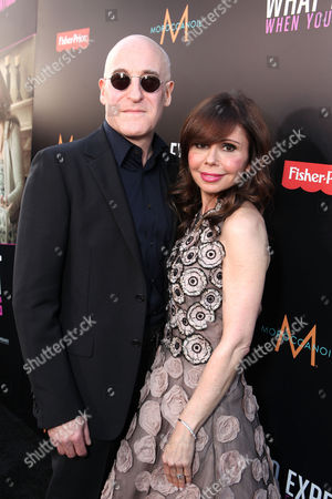 HOLLYWOOD, CA - MAY 14: Executive Producer Erik Murkoff and Executive Producer/Author Heidi Murkoff arrive at the Lionsgate Premiere of 'What To Expect When You're Expecting' at Grauman's Chinese Theatre on May 14, 2012 in Hollywood, California. Erik Murkoff Heidi Murkoff