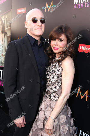 Stock Image of HOLLYWOOD, CA - MAY 14: Executive Producer Erik Murkoff and Executive Producer/Author Heidi Murkoff arrive at the Lionsgate Premiere of 'What To Expect When You're Expecting' at Grauman's Chinese Theatre on May 14, 2012 in Hollywood, California. Erik Murkoff Heidi Murkoff