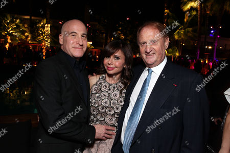 HOLLYWOOD, CA - May 14: Executive Producer Erik Murkoff, Executive Producer/Author Heidi Murkoff and Producer Mike Medavoy arrive at Lionsgate's Premiere of 'What to Expect When You're Expecting' at Graumans Chinese Theatre on May 14, 2012 in Hollywood, California.