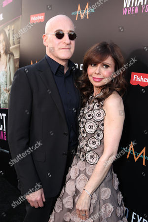 Stock Photo of HOLLYWOOD, CA - May 14: Executive Producer Erik Murkoff and Executive Producer/Author Heidi Murkoff arrive at Lionsgate's Premiere of 'What to Expect When You're Expecting' at Graumans Chinese Theatre on May 14, 2012 in Hollywood, California.
