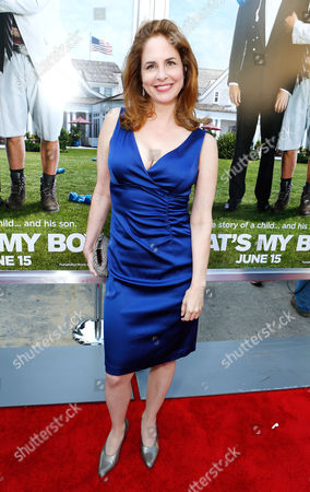 Stock Image of WESTWOOD, CA - JUNE 04: Stephanie Erb at Columbia Pictures Premiere of 'That's My Boy' at Regency Village Theatre on June 4, 2012 in Westwood, California. Stephanie Erb