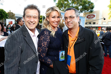 WESTWOOD, CA - JUNE 04: Producers Allen Covert, Heather Parry and Jack Giarraputo at Columbia Pictures Premiere of 'That's My Boy' at Regency Village Theatre on June 4, 2012 in Westwood, California. Allen Covert Heather Parry Jack Giarraputo