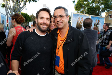 Stock Picture of WESTWOOD, CA - JUNE 04: Will Forte and Producer Jack Giarraputo at Columbia Pictures Premiere of 'That's My Boy' at Regency Village Theatre on June 4, 2012 in Westwood, California. Will Forte Jack Giarraputo