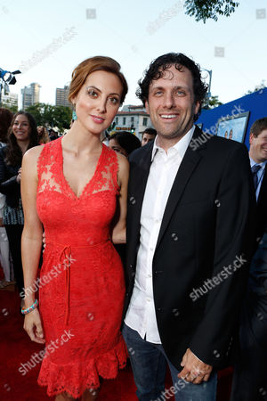 WESTWOOD, CA - JUNE 04: Eva Amurri Martino and Director/Writer Sean Anders at Columbia Pictures Premiere of 'That's My Boy' at Regency Village Theatre on June 4, 2012 in Westwood, California. Eva Amurri Martino Heather Parry