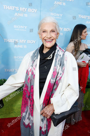 Stock Image of WESTWOOD, CA - JUNE 04: Peggy Stewart at Columbia Pictures Premiere of 'That's My Boy' at Regency Village Theatre on June 4, 2012 in Westwood, California. Peggy Stewart