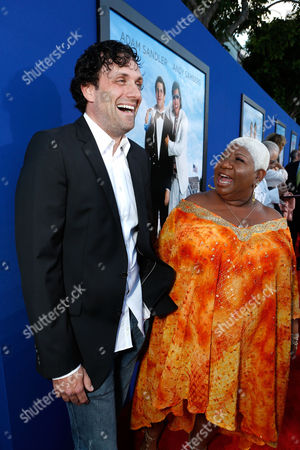 WESTWOOD, CA - JUNE 04: Director/Writer Sean Anders and Luenell Campbell at Columbia Pictures Premiere of 'That's My Boy' at Regency Village Theatre on June 4, 2012 in Westwood, California. Sean Anders Luenell Campbell